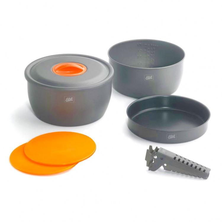 Набор посуды с антипригарным покрытием Esbit CW2500NS - туристическое снаряжение в Минске