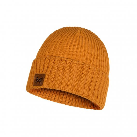 Шапка Buff Knitted Hat Rutger Ocher 117845 (Желтый Uni)
