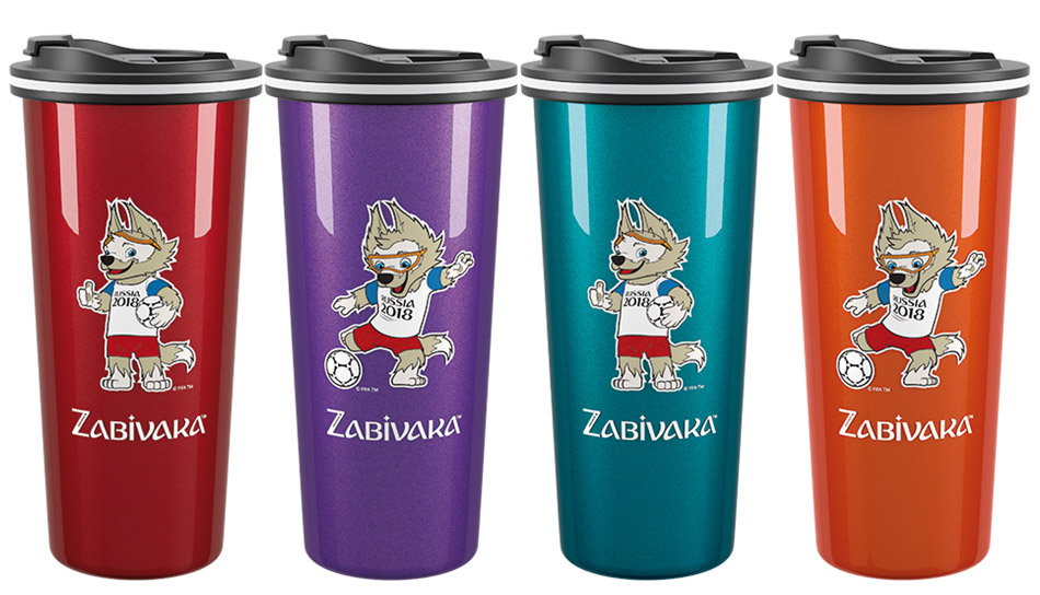 Термокружка FlameClub Travel Auto 450ml Zabivaka
