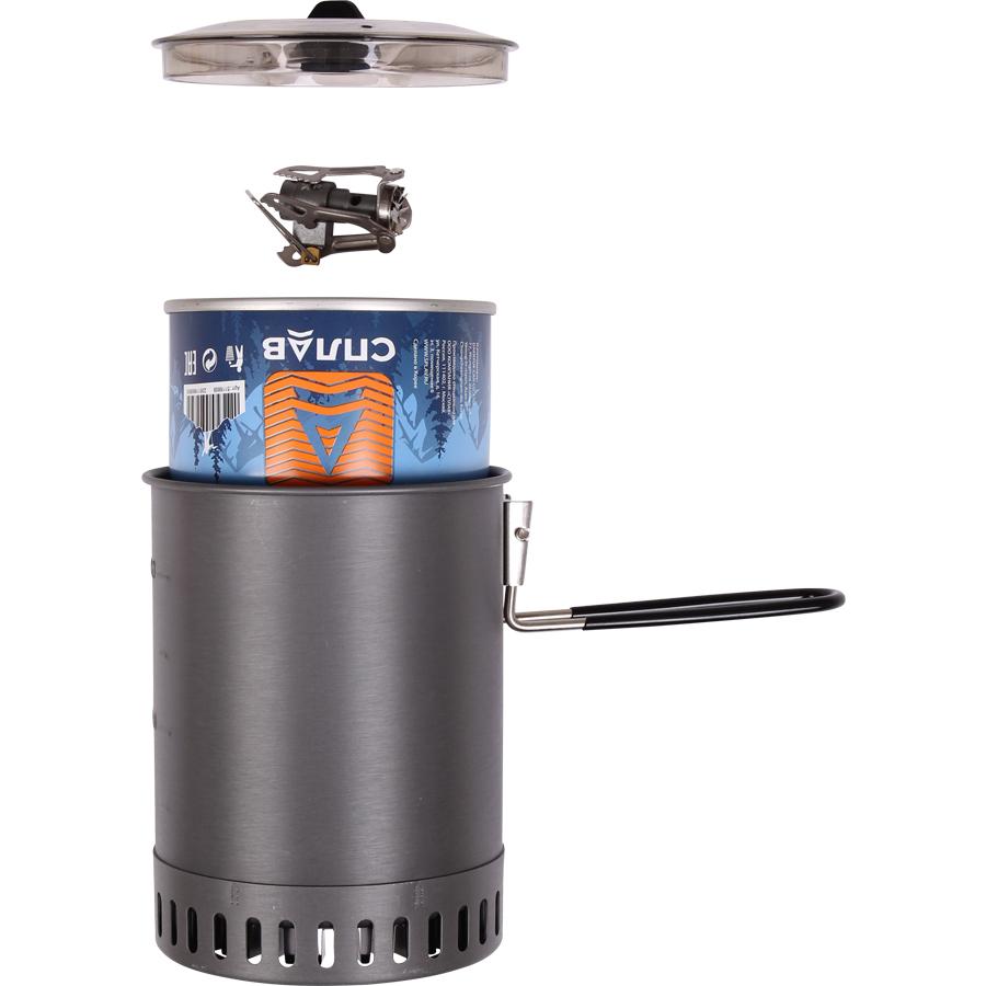Кастрюля Splav PowerBoil 1,25л с радиатором - туристическое снаряжение в Минске. Фото �7