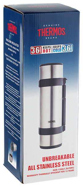 Термос Thermos Rocket Bottle NCB-12B 1.2 л. Фото �3