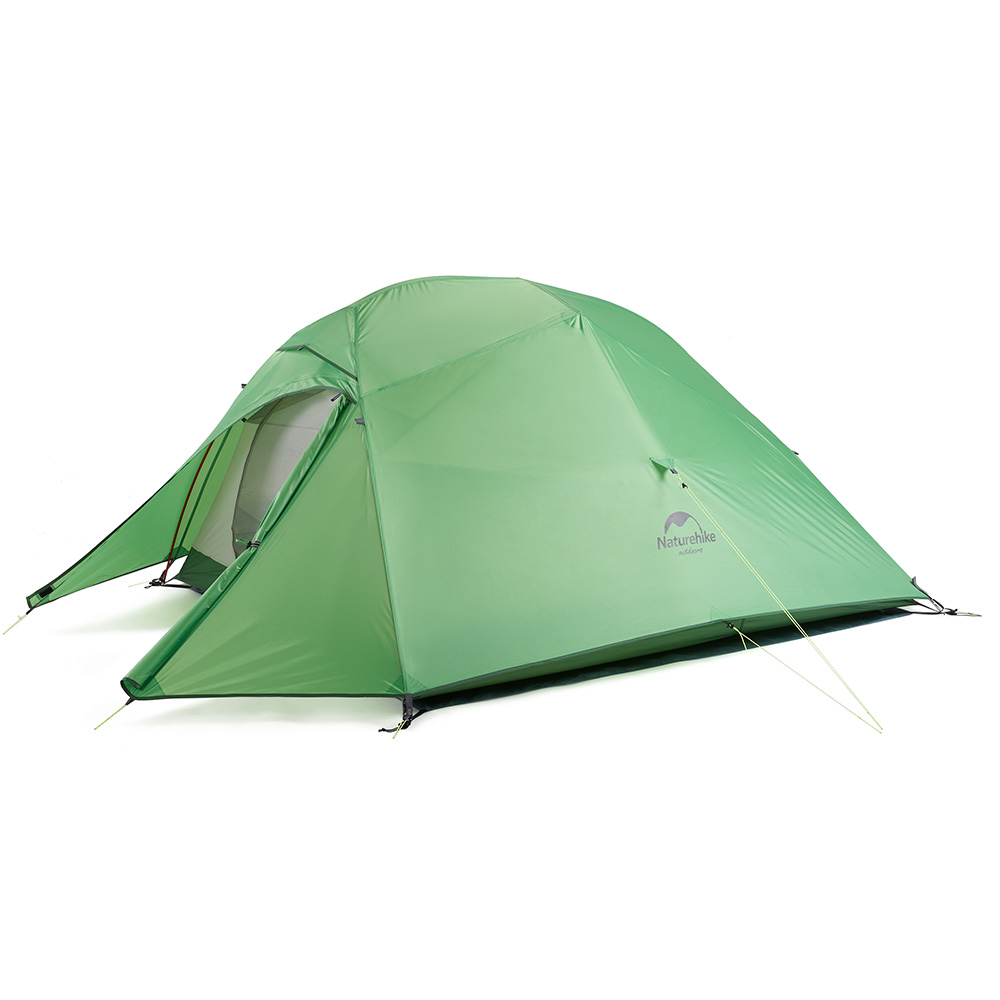 Палатка Naturehike Cloud UP Ultralight 3 (20D) (Зеленый)