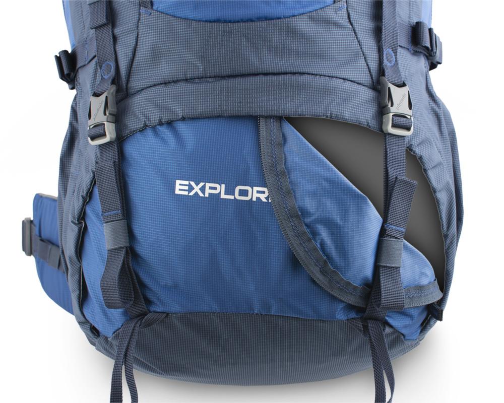 Рюкзак туристический Pinguin Explorer 75 л. New2020. Фото �7