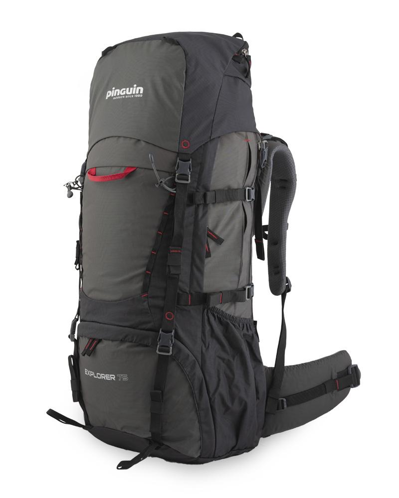 Рюкзак туристический Pinguin Explorer 75 л. New2020 (Black)