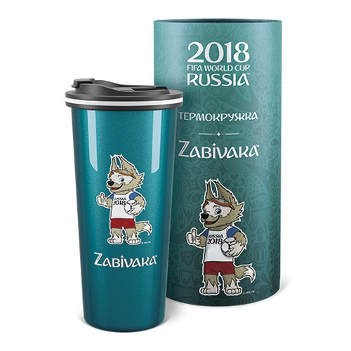 Термокружка FlameClub Travel Auto 450ml Zabivaka. Фото �2