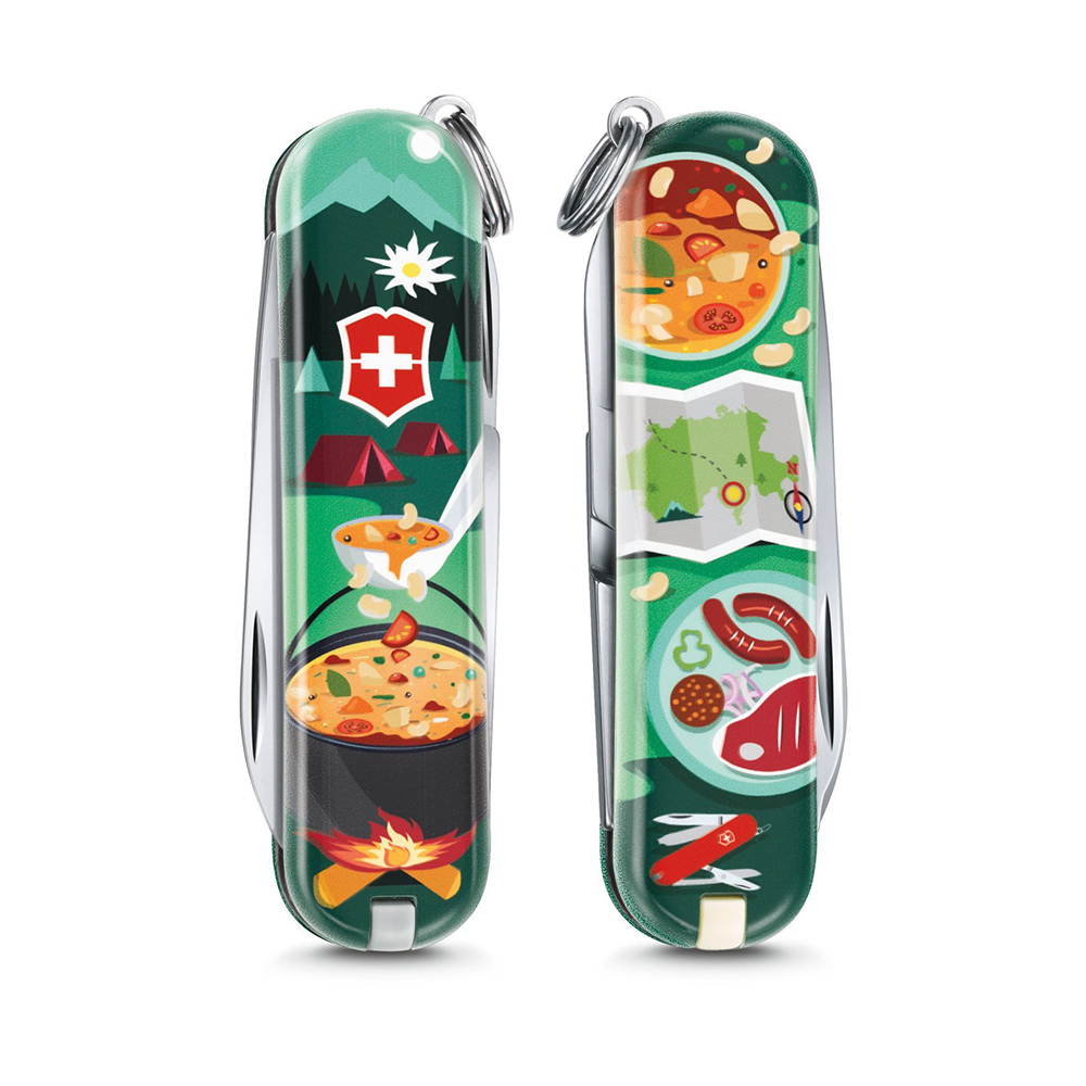 Нож перочинный Victorinox Classic Swiss mountain Dinner 58мм 7функций (0.6223.L1907). Фото �2