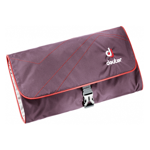 Косметичка Deuter Wash Bag II (aubergine-fire)