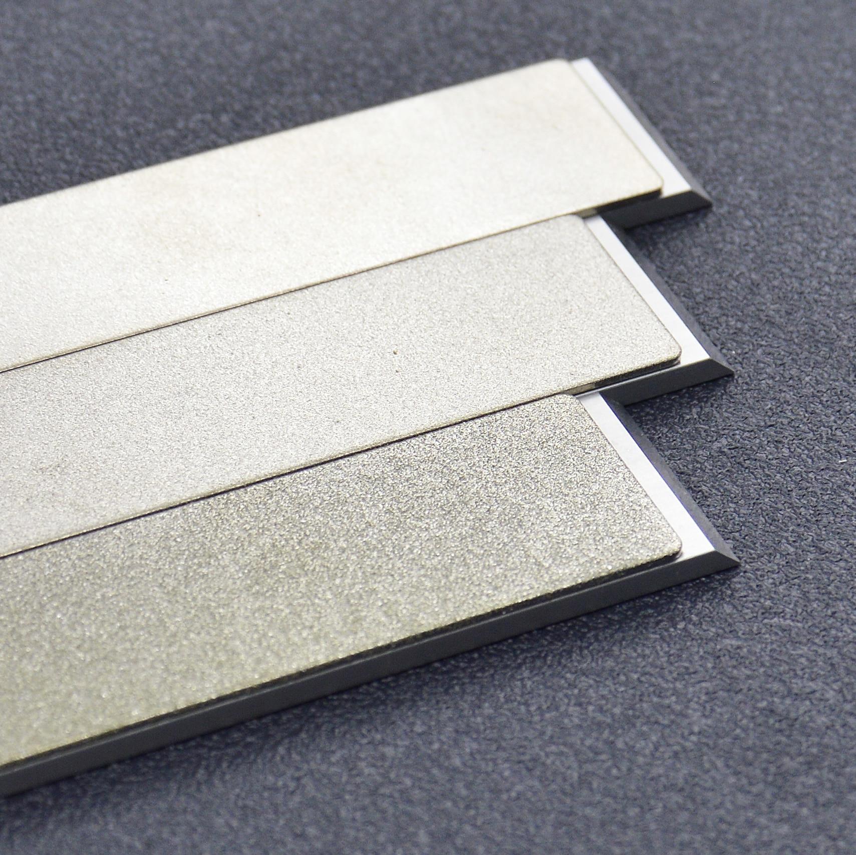Комплект алмазных брусков Жук Diamond 240, 600, 1000 grit, 25мм - туристическое снаряжение в Минске. Фото �3