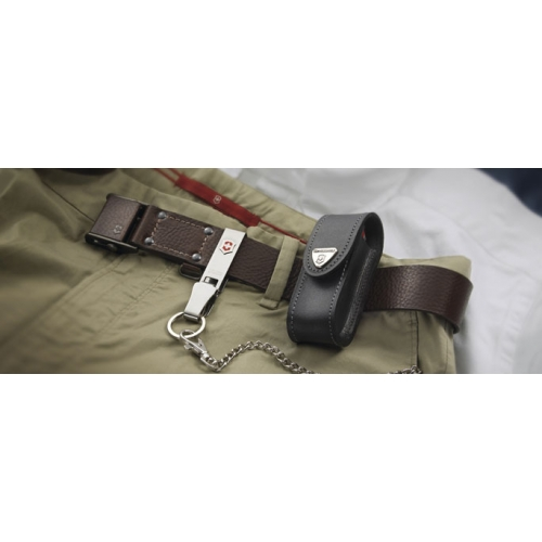 Чехол из натуральной кожи Victorinox Leather Belt Pouch (4.0520.3). Фото �2