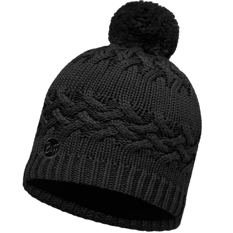 Шапка Buff Knitted & Polar Hat Savva Black 111005 (Черный Uni)