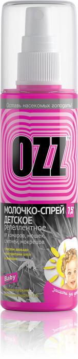 Молочко детское репеллентное OZZ Baby 100 мл - туристическое снаряжение в Минске