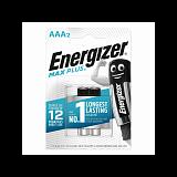 Батарейки Energizer AAA Max Plus LR03 (2шт) - туристическое снаряжение в Минске