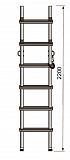 Лестница Техношанс Луск-1-2,2 диэлектрическая купить в Минске в магазине Робинзон