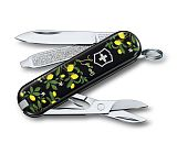Нож перочинный Victorinox Classic When Life Gives You Lemons 58мм 7функций (0.6223.L1905)