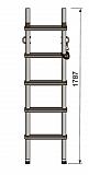 Лестница Техношанс Луск-1-1,75 диэлектрическая купить в Минске в магазине Робинзон