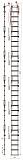 Лестница Техношанс Луско-6-9,5Д диэлектрическая для опор ВЛ в условиях повышенной влажности купить в Минске в магазине Робинзон