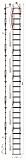 Лестница Техношанс Луско-6-8,9Д диэлектрическая для опор ВЛ в условиях повышенной влажности купить в Минске в магазине Робинзон