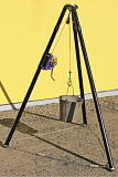 Тренога (трипод) Техношанс Триотех-1,5 ремонтно-грузовая купить в Минске в магазине Робинзон