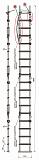 Лестница Техношанс Луско-4-5,8Д диэлектрическая для опор ВЛ в условиях повышенной влажности купить в Минске в магазине Робинзон
